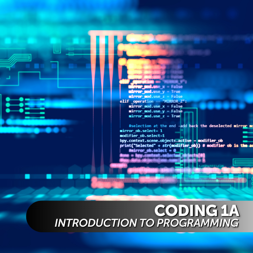 Coding 1A: Introduction to Programming