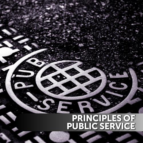 Principles of Public Service